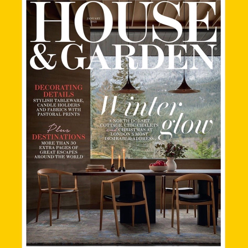 House and Garden UK January 2020 [Back Issue]