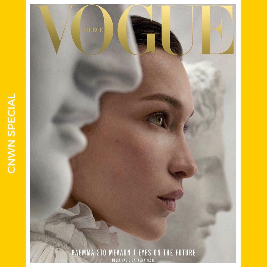Vogue Greece April 2019 Launch Issue  [Special]
