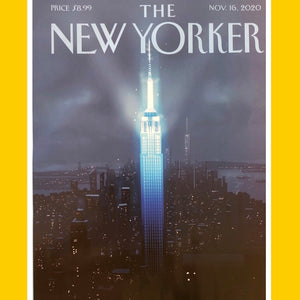 The New Yorker 16th November 2020 [Back Issue]