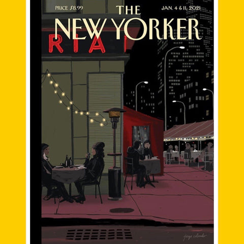 The New Yorker 4th & 11th January 2021 [Back Issue]