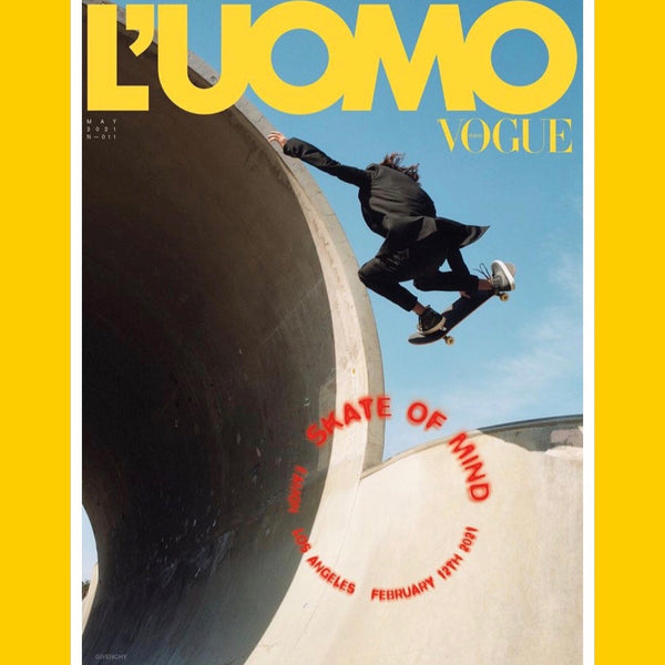 L'UOMO Vogue Italia May 2021 (multiple covers)