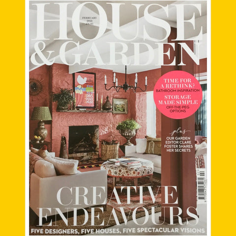 House and Garden UK February 2021 [Back Issue]