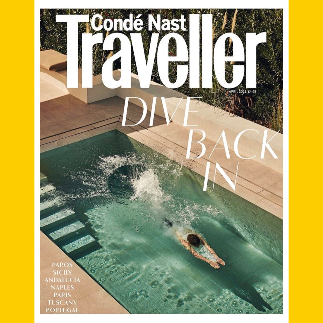 Condé Nast Traveller UK April 2021 [Back Issue]