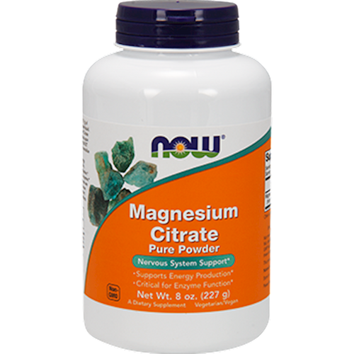 Magnesium Citrate Powder by NOW