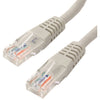 4XEM 3FT Cat6 Molded RJ45 UTP Ethernet Patch Cable (Gray)