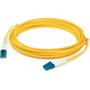 AddOn 0.5m LC (Male) to LC (Male) Yellow OS1 Simplex Fiber OFNR (Riser-Rated) Patch Cable
