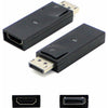 AddOn DisplayPort Male to HDMI Female Black Adapter (Requires DP++)