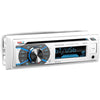 BOSS AUDIO MR508UABW Marine Single-DIN CD Player, Receiver, Bluetooth, Wireless Remote
