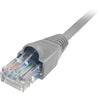 Comprehensive Cat5e Snagless Patch Cable 25ft Grey - USA Made & TAA Compliant