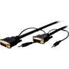Comprehensive Standard Series 28 AWG DVI-D Dual Link with Audio Cable 10ft