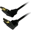 Comprehensive Standard Series HDMI High Speed Swivel Cable 3ft