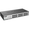 D-Link DES-1024D 24-Port 10/100 Unmanaged Metal Desktop or Rackmount Switch