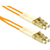 ENET 4M LC/LC Duplex Multimode 50/125 OM2 or Better Orange Fiber Patch Cable 4 meter LC-LC Individually Tested