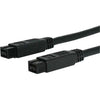 StarTech.com 6 ft 1394b 9 Pin to 9 Pin Firewire 800 Cable M/M