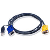 10FT PS2 TO USB INTELLIGENT KVM - CABLE
