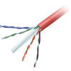 BULK CABLE - BARE WIRE - BARE WIRE - 500 FT - UTP - ( CAT 6 ) - RED