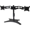 DUAL MONITOR FLEX STAND 32IN - ADJUST HEIGHT LIFETIME WARRANTY TAA