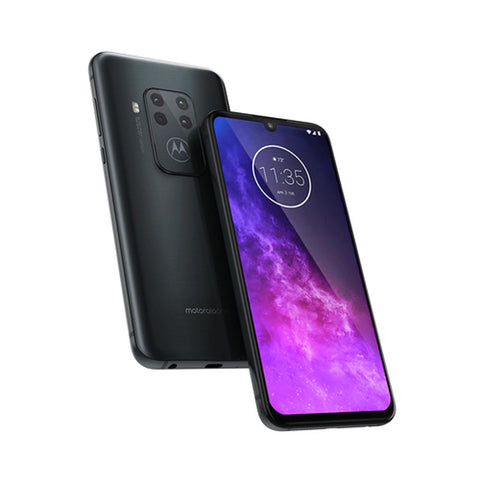 Celular Motorola One Zoom 6.4in, 4GB, 128GB, Android 9, 25MP/48MP+8MP+16MP+5MP - Gris