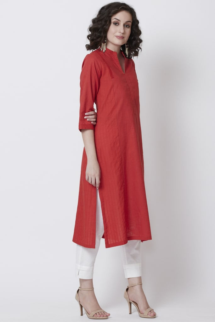 Cotton Straight Kurta