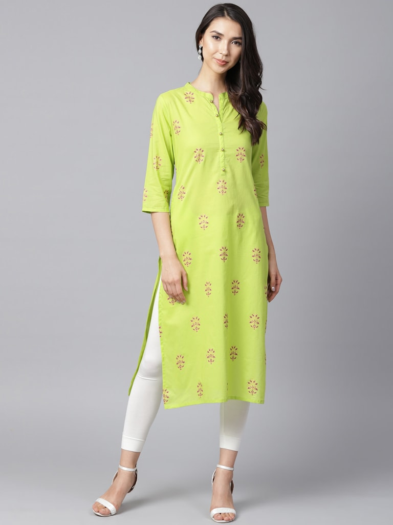 Cotton Printed Kurta