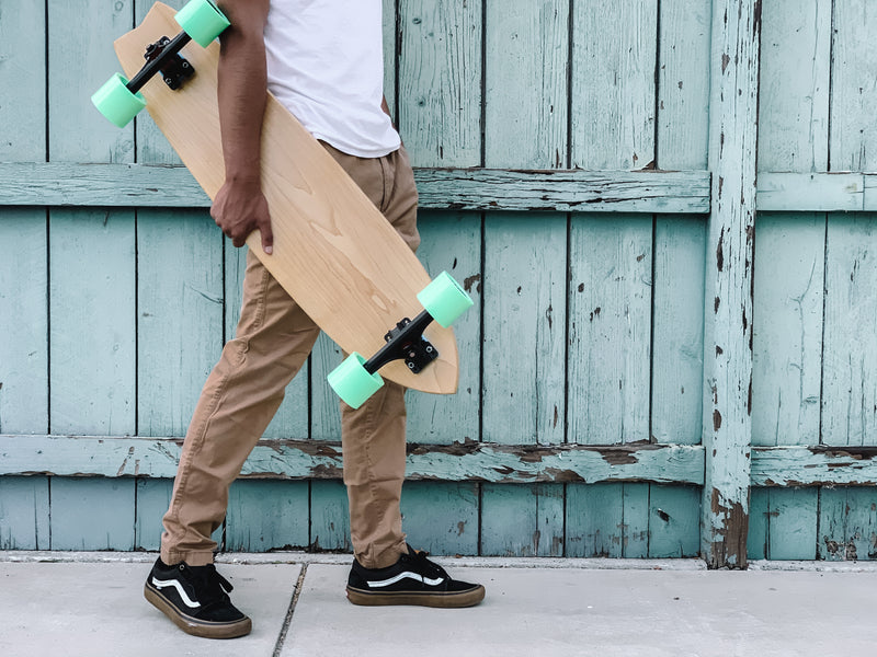 The Fish Mcneej Longboard (Maple)