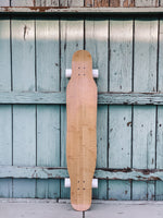 Dancer Longboard (with white wheels)
