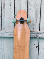 Dancer Longboard (with blue/orange wheels)
