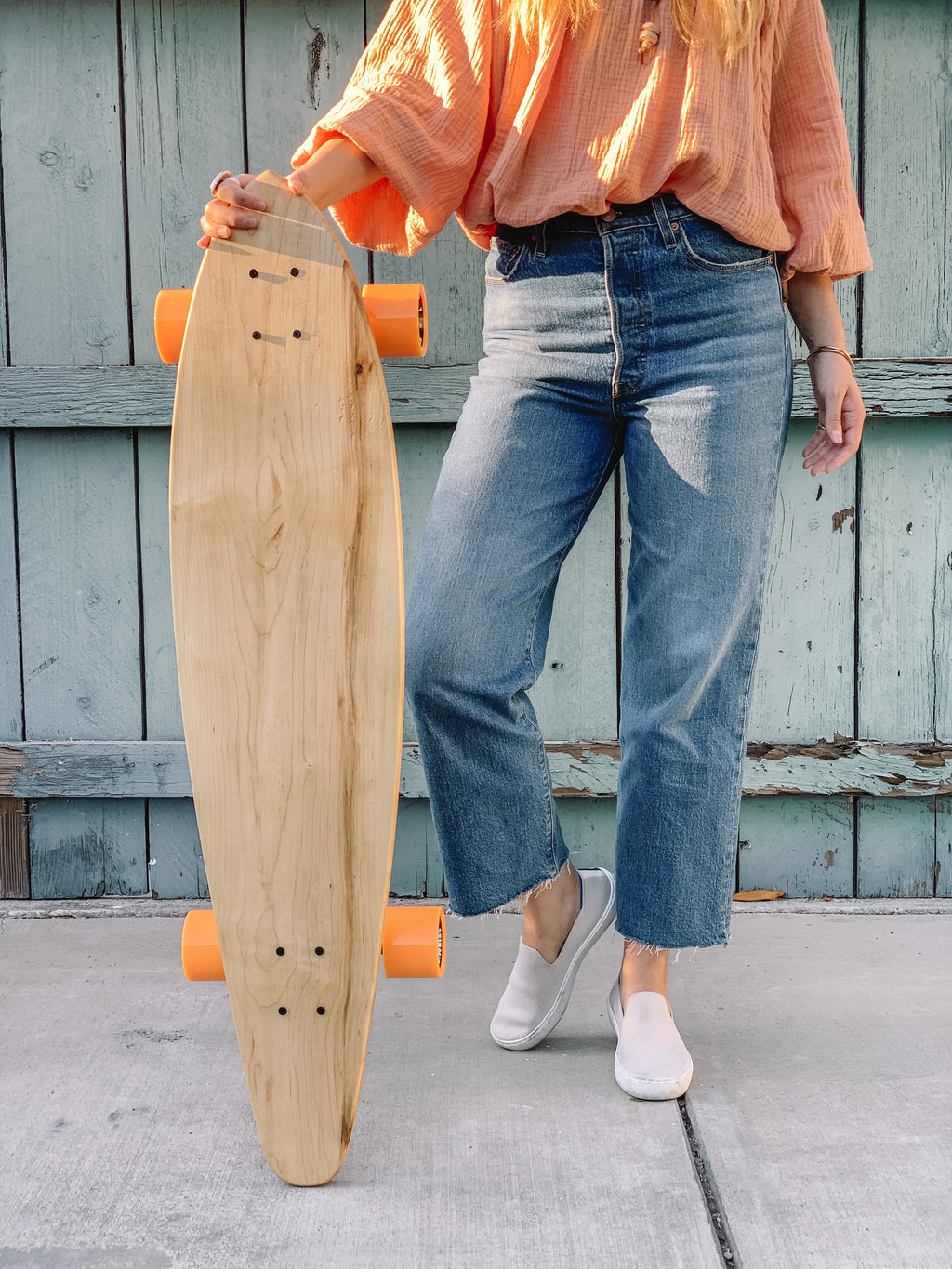 The Nui Longboard (Maple) 42 inch