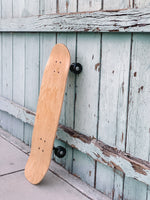 The Old School Skateboard (with black wheels)