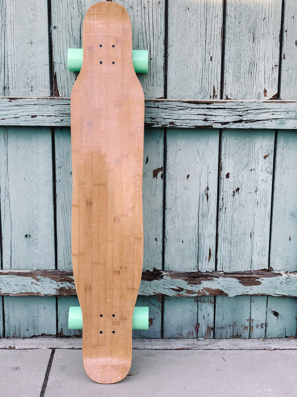 Dancer Longboard (with blue wheels)