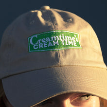 Load image into Gallery viewer, Khaki Cream Time Hat