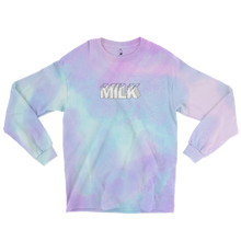 Load image into Gallery viewer, Milk Tie Dye Longsleeve