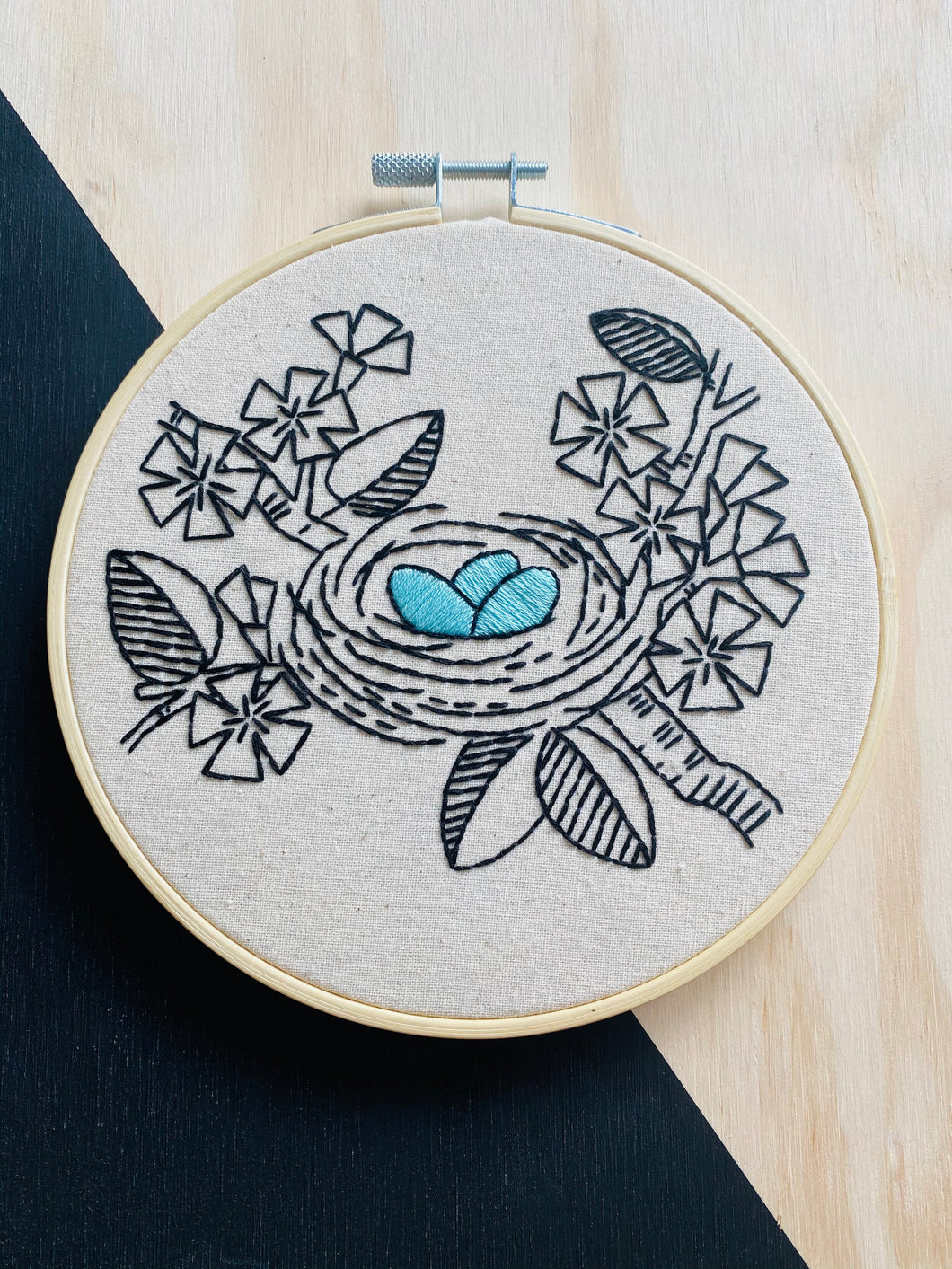 Nest Egg Embroidery Kit