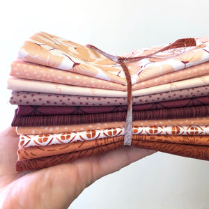 Fuzzy Peach Fat Quarter Bundle