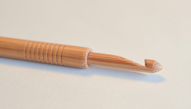 Bamboo Tip Crochet Hook - 5mm