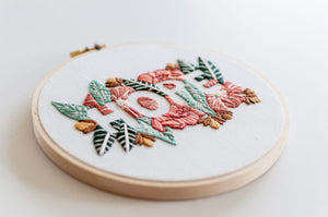 Hope Embroidery Kit
