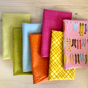 Knock Your Socks Off Fat Quarter Bundle