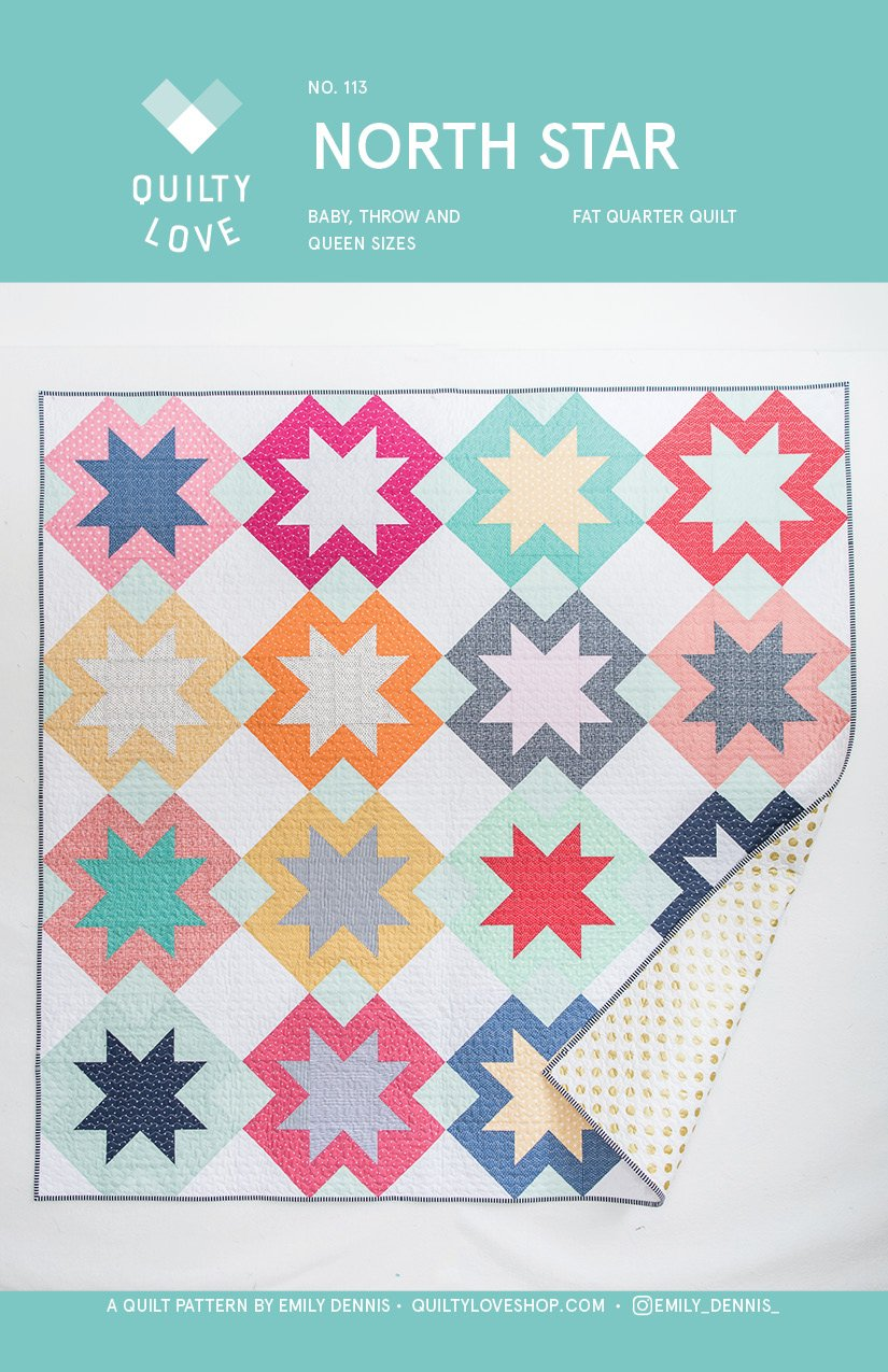 North Star Quilt Pattern