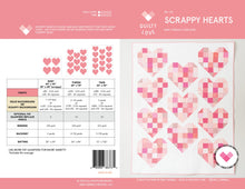 Load image into Gallery viewer, Scrappy Hearts Quilt Pattern