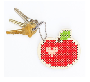 Red Apple Keychain / Backpacker Kit