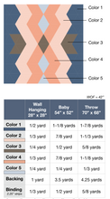 Load image into Gallery viewer, Aztec Diamonds Quilt Pattern