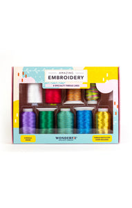 Amazing Embroidery Pack - Bright & Bold