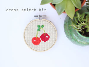 Cherries Cross Stitch Kit