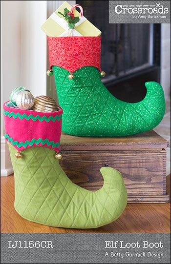Elf Loot Boot Pattern