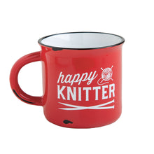 Load image into Gallery viewer, Happy Knitter Camp Mug