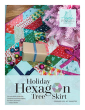Load image into Gallery viewer, Holiday Hexagon Tree Skirt Pattern