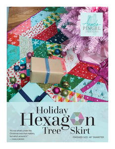Holiday Hexagon Tree Skirt Pattern