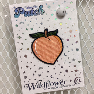 Peach Iron-On Patch