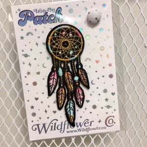 Southwestern Dreamcatcher Iron-On Patch