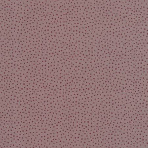 Dancing in the Blossom - Burgundy Dots